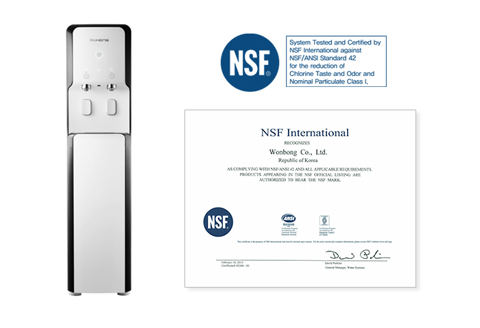 Pasteurization Water Purifier Whp 1600 Acquired Nsf Certification